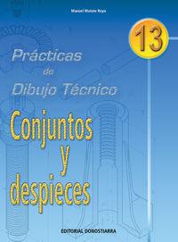 PRACT. DIBUJO TECNICO 13 - CONJUNTOS Y DESPIECES