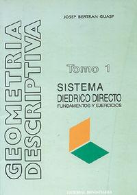 SISTEMA DIEDRICO DIRECTO (T.1) - GEOMETRIA DESCRIPTIVA