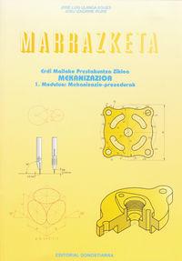 MARRAZKETA 1. MODULUA: MEKANIZAZIO-PROZEDURAK - MEKANIZAZIOA