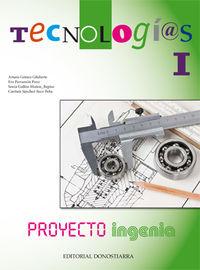 Eso 1 / 2 - Tecnologias Nivel I - Ingenia - Arturo  Gomez Gilaberte  /  [ET AL. ]