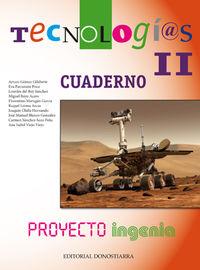 ESO 3 / 4 - TECNOLOGIAS II CUAD. - INGENIA
