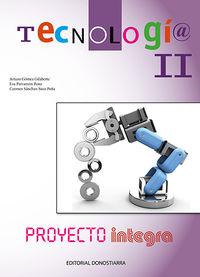 ESO 3 / 4 - TECNOLOGIA II - INTEGRA