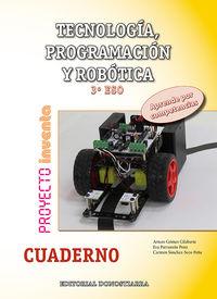 ESO 3 - TECNOLOGIA, PROGRAMACION Y ROBOTICA CUAD. - INVENTA