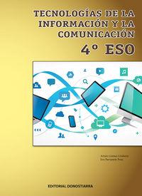 ESO 4 - TECNOLOGIA, INFORMACION Y COMUNICACION
