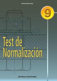 PRACTICAS DE DIBUJO TECNICO 9 - TEST NORMALIZACION