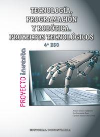 ESO 4 - TECNOLOGIA, PROGRAMACION Y ROBOTICA - INVENTA (MAD)