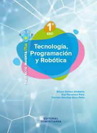 ESO 1 - TECNOLOGIA, PROGRAMACION Y ROBOTICA (MAD) - INVENTA PLUS