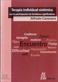 Terapia Individual Sistematica Con La Participacion De Familiares - Alfredo Canevaro