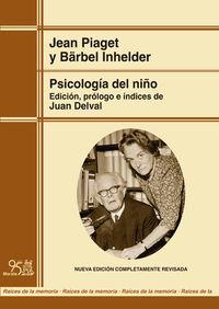 psicologia del niño (ed renovada) - Jean Piaget