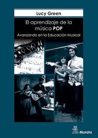 APRENDIZAJE DE LA MUSICA POP, AL - AVANZANDO EN LA EDUCACION MUSICAL