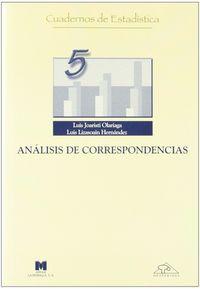 ANALISIS DE CORRESPONDENCIAS