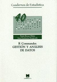 R COMMARNDER. GESTION Y ANALISIS DE DATOS 40
