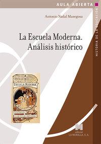 ESCUELA MODERNA, LA - ANALISIS HISTORICO