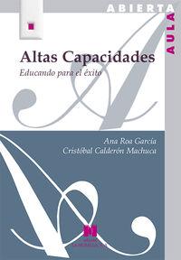 ALTAS CAPACIDADES - EDUCANDO PARA EL EXITO