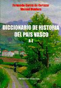 Dic. De Historia Del Pais Vasco A-Z - Fernando Garcia De Cortazar / Manuel Montero