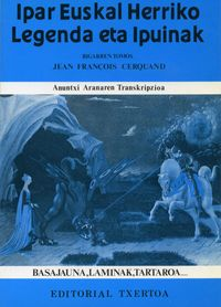 ipar euskal herriko legendak ii - Jean Francois Cerquand