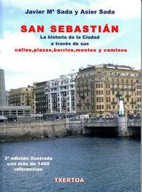 SAN SEBASTIAN - HISTORIA DE LA CIUDAD A TRAVES DE SUS CALLES...