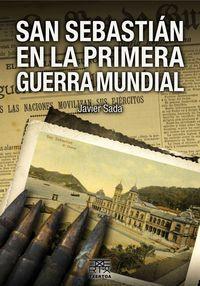 SAN SEBASTIAN EN LA PRIMERA GUERRA MUNDIAL