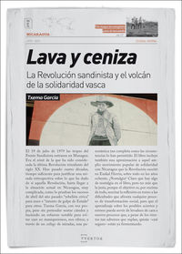 Lava Y Ceniza - Txema Garcia Paredes
