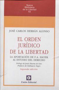(2 ED) ORDEN JURIDICO DE LA LIBERTAD