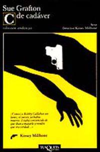 C De Cadaver (vol.3) - Sue Grafton
