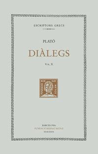 DIALEGS X - LA REPUBLICA (LLIBRES I-IV)
