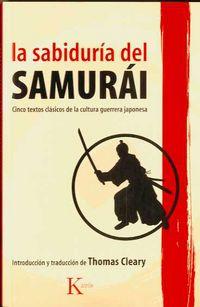 Sabiduria Del Samurai - Thomas Cleary