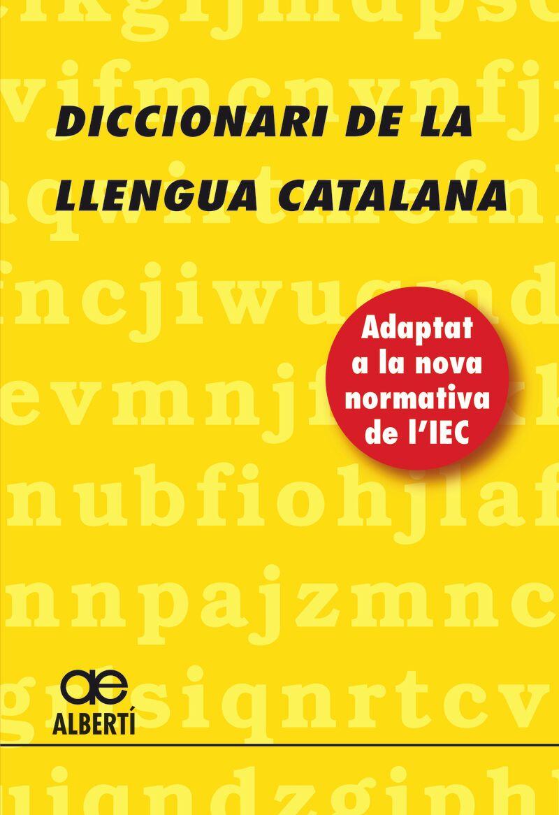DICCIONARI DE LA LLENGUA CATALANA