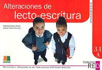 3.1A ALTERACIONES DE LECTO-ESCRITURA - AFIANZAMIENTO (10-12 AÑOS)