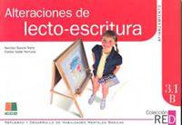 3.1B ALTERACIONES DE LECTO-ESCRITURA - AFIANZAMIENTO (10-12 AÑOS)