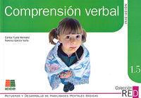 1.5 COMPRENSION VERBAL - INICIACION (6-8 AÑOS)