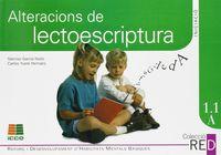 1.1A ALTERACIONS DE LECTOESCRIPTURA (6-8 ANYS)