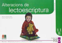 1.1B ALTERACIONS DE LECTOESCRIPTURA (6-8 ANYS)