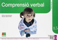 1.5 COMPRENSIO VERBAL (6-8 ANYS)