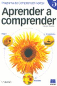 ESO 1 - APRENDER A COMPRENDER 5