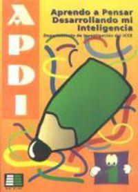 APDI 1 - APRENC A PENSAR DESENVOLUPANT LA MEVA INTELULIGENCIA