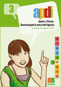 Apdi 3 - Aprenc A Pensar Desenvolupant La Meva Inteluligencia - Aa. Vv.