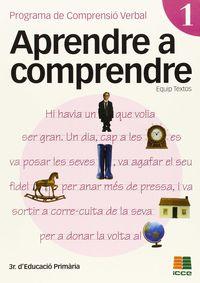 Ep 3 - Aprendre A Comprendre 1 - Aa. Vv.