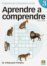 Ep 5 - Aprendre A Comprendre 3 - Aa. Vv.