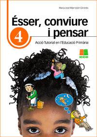 ESSER, CONVIURE I PENSAR 4 - ACCIO TUTORIAL EN L'EDUCACIO PRIMARIA