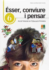 ESSER, CONVIURE I PENSAR 6 - ACCIO TUTORIAL EN L'EDUCACIO PRIMARIA