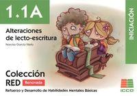 (2 ED) RED 1.1A - ALTERACIONES DE LECTO-ESCRITURA