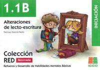 (2 ED) 1.1B ALTERACIONES DE LECTO-ESCRITURA - INICIACION (6-8 AÑOS)