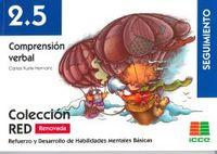 2.5 COMPRENSION VERBAL - SEGUIMIENTO (8-10 AÑOS)