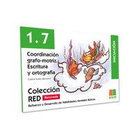 (2 ED) 1.7 COORDINACION GRAFO-MOTRIZ - INICIACION (6-8 AÑOS)