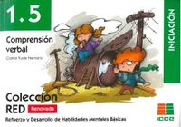 (2 ED) RED 1.5 COMPRENSION VERBAL - INICIACION (6-8 AÑOS)