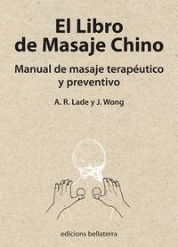 LIBRO DE MASAJE CHINO, EL