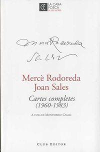 Cartes Completes - Merce Rodoreda / Joan Sales