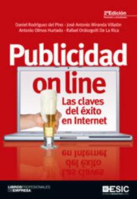 PUBLICIDAD ON LINE (2ª ED) - LAS CLAVES DEL EXITO EN INTERNET