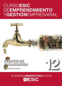 FUENTES DE FINANCIACION - CURSO ESIC 12